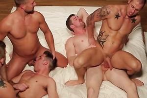 Rod's Fantasy - Jizz Orgy - Bobby Clark - Colby Jansen - Andrew Stark - Duncan Black - Rod Daily