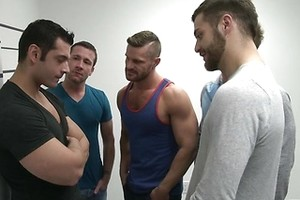 The Line Up - JO - Jizz Orgy - Trevor Knight - Tommy Defendi - Landon Conrad - Marcus Ruhl - Liam Magnuson